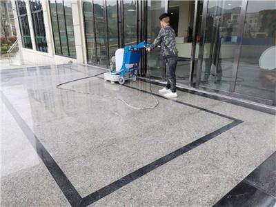 美石地坪石材机械在贵州遵义施工现场